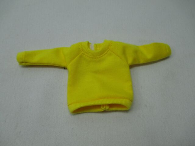 Handcrafted clothing outfit for Blythe doll long sleeve Sweater Tee shirt SW-10