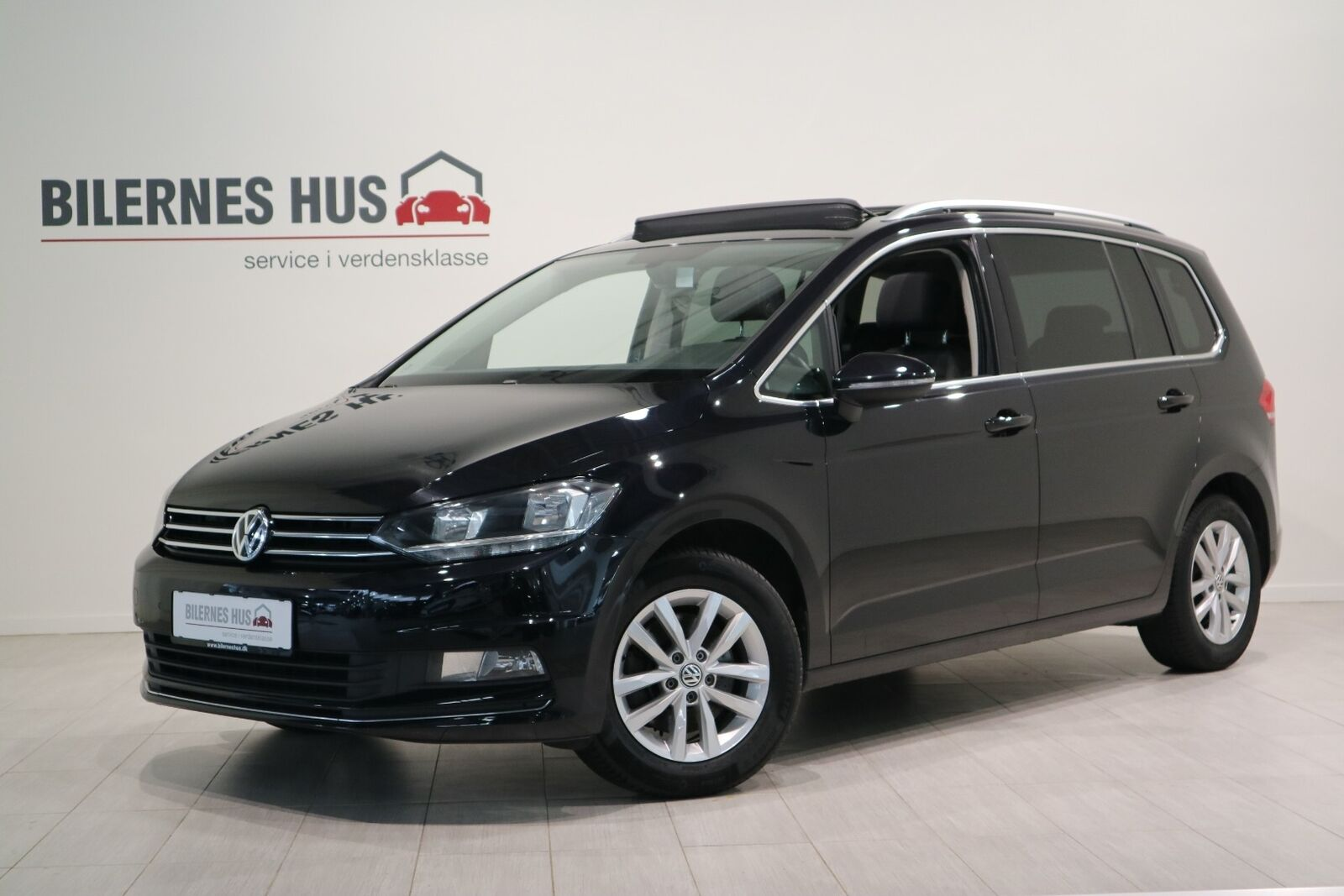 VW Touran 1,6 TDi 110 Highline DSG