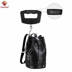 50kg-10g-Digital-LCD-Portable-Electronic-Luggage-Hanging-Weight-Hook-Scale-NEW
