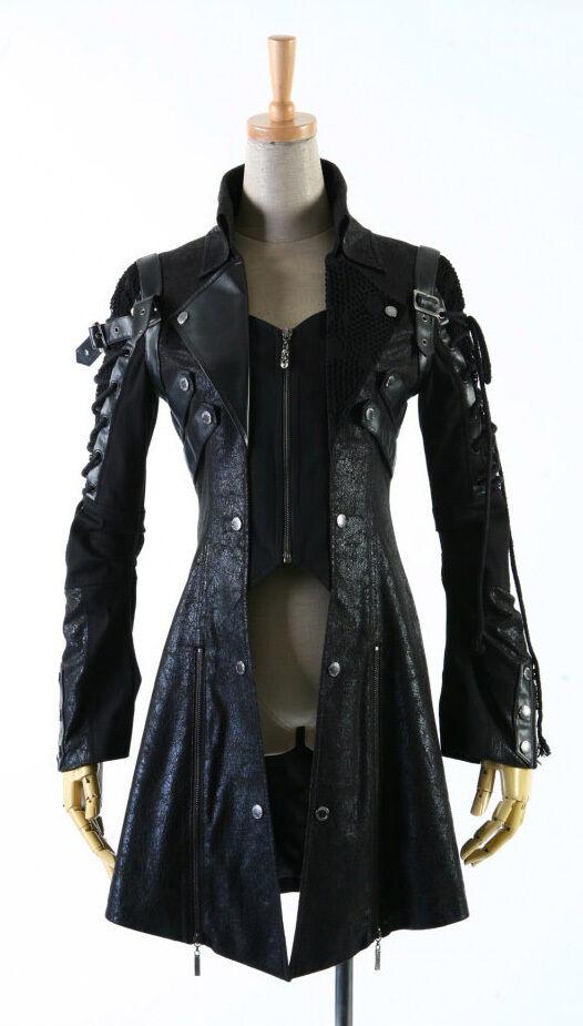 L'inverno da uomo uomo da overknee lunghi misto lana cappotto bavero Cappotto Giacca Aziendale Oxford 212af7