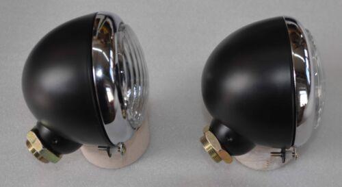 Scheinwerfer Hassia Ø 105 stehend Verschraubung 45° hinten mit Chromring 50506