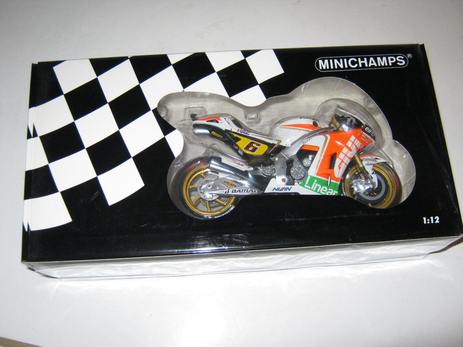 1 12 Honda RC213V Bradl 2012 MotoGP Minichamps 122121106 NEU OVP