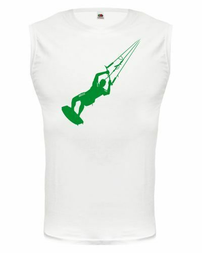 Muskelshirt ärmellos Tank Top Kite-surfing Kitesurfen Kitesurfer Wakeboard