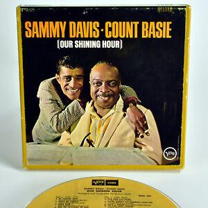 "Sammy Davis & Count Basie, Our Shining Hour - Verve VSTC 324 - 7.5 ips, 7"" REEL"