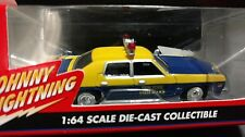 Johnny Lightning New York state Police 1977 Dodge Monaco Cop Car  1/64 Diecast