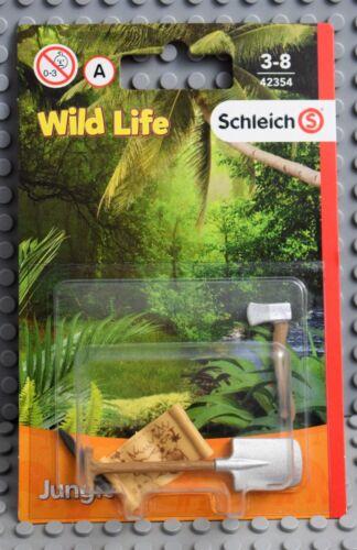 Schleich Wild Life 42354 Ranger herramienta nuevo embalaje original U.