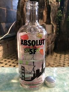 Absolut Vodka Sequin Skin Set Of 2 .1000 Ml