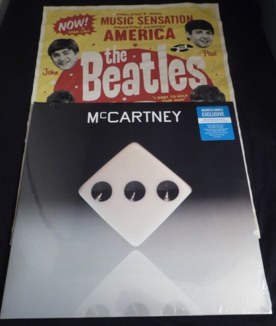 PAUL MCCARTNEY - III 3 LP BLUE VINYL MINTY LIMITED EDITION NEW SEALED IN HAND