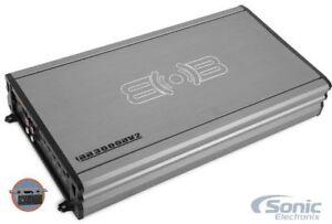 MTX THUNDER75.4 4-Channel 400W Thunder Series Car Amplifer FREE Amp Kit!