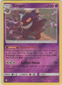 Pokemon TCG SM Unbroken Bonds 70//214 Gengar Reverse Holo Rare Card