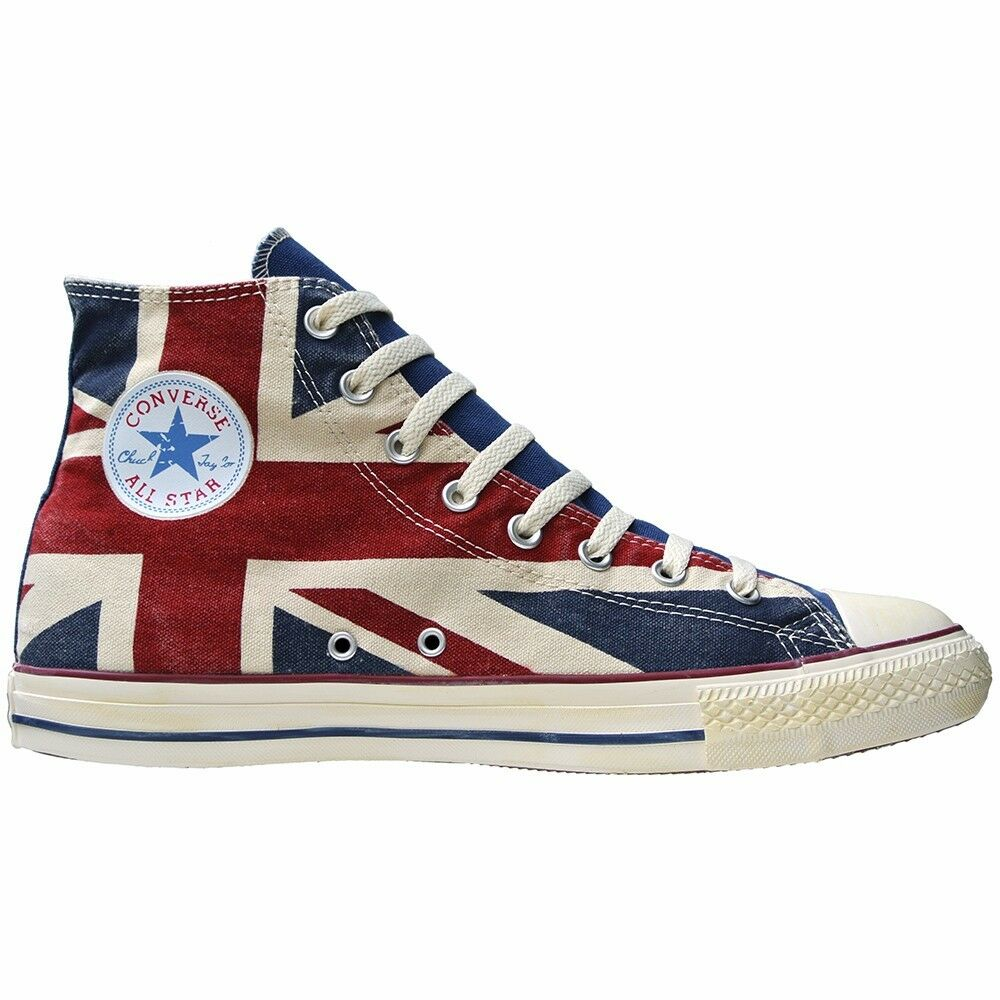 CONVERSE ALL STAR UK CHUCKS SCHUHE EU 36 UK STAR 3,5 GB ENGLAND FLAG PUNK UNION JACK b62a1a