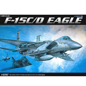 ACADEMY-12257-1-48-Plastic-Model-Kit-U-S-AIR-FORCE-F-15C-D