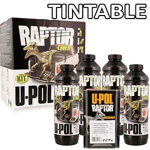 UPOL-Raptor-TINTABLE-Tough-Urethene-Coating-For-Truck-Trailers-Boats-Etc