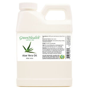 16-fl-oz-Aloe-Vera-Carrier-Oil-100-Pure-amp-Natural-Plastic-Jug