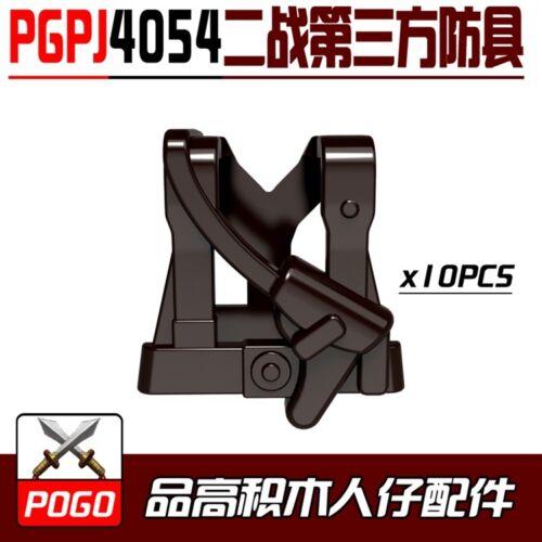PGPJ4054 Custom Rare 10pcs Kids Compatible #4054 Weapons Vest Child New #More