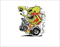 Rat Fink Coupe Sticker/decal
