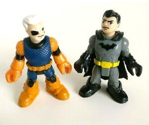 Dc Comics Fisher Price Imaginext Dc Super Amis Deathstroke Et Batman-afficher Le Titre D'origine