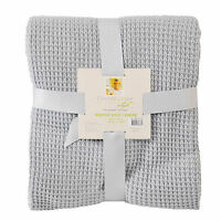 Chris Madden Waffle Knit Throw Color Choice Brand