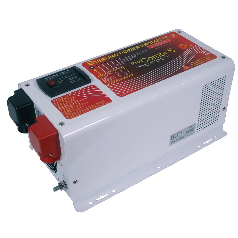 Sterling 12v 3500w Power pro KOMBI Pure Sine Wave Wave Wave Wechselrichter LADER Pcs123500 eeb2b0