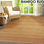1-52m-x-2-29m-Large-Bamboo-Carpet-Rug-Floor-Mat-Home-Office-Indoor-Outdoor thumbnail 2