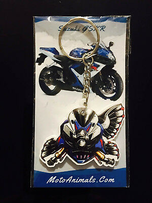 Suzuki Hayabusa key chain motorcycle GSX1300R GSXR Sport Bike Busa Keychain Fob