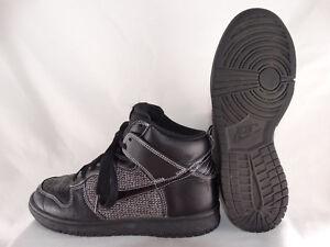 Details zu Nike Dunk High Damen Basketballschuhe 318676 002 schwarz grau EU 38,5 US 7,5