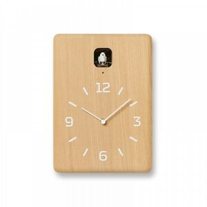 Lemnos CUCU Cuckoo Wall Clock Natural LC10-16 NT With Tracking Japan Import