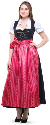 Du long 3 Pcs Set T 38-60 Rouge Noir Costumes Robe Classique Robe Chemisier