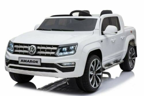 AUTO MACCHINA ELETTRICA PER BAMBINI Volkswagen AMAROK PICK UP 2 POSTI 12v