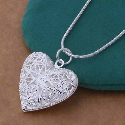 Wholesale 925Solid Sterling Silver Jewelry Pendant Necklace Chain Jewellery