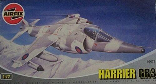 Airfix 1//72 British Aerospace Harrier GR3 RAF NIB