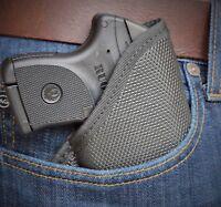 S&w 637 638 642 Soft Armor Black Diamond Pocket Holster Conceal Carry Bd-15 Iwb