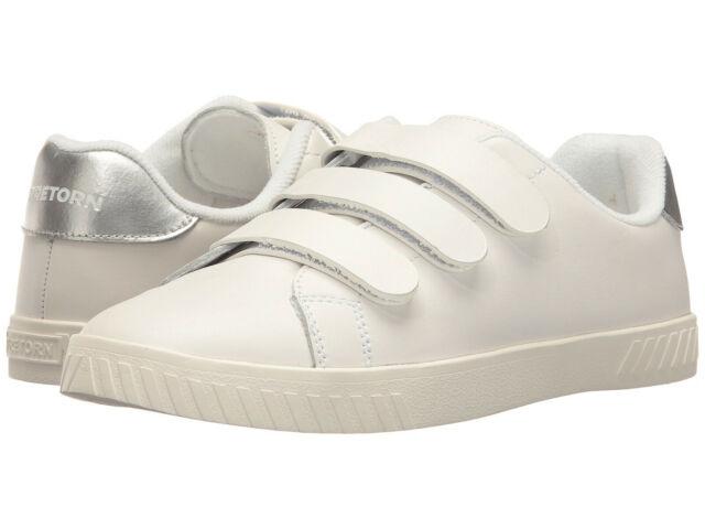 7e8e34813f26e Tretorn Women's Carry2 Sneaker Vintage White/silver Leather 8.5 M
