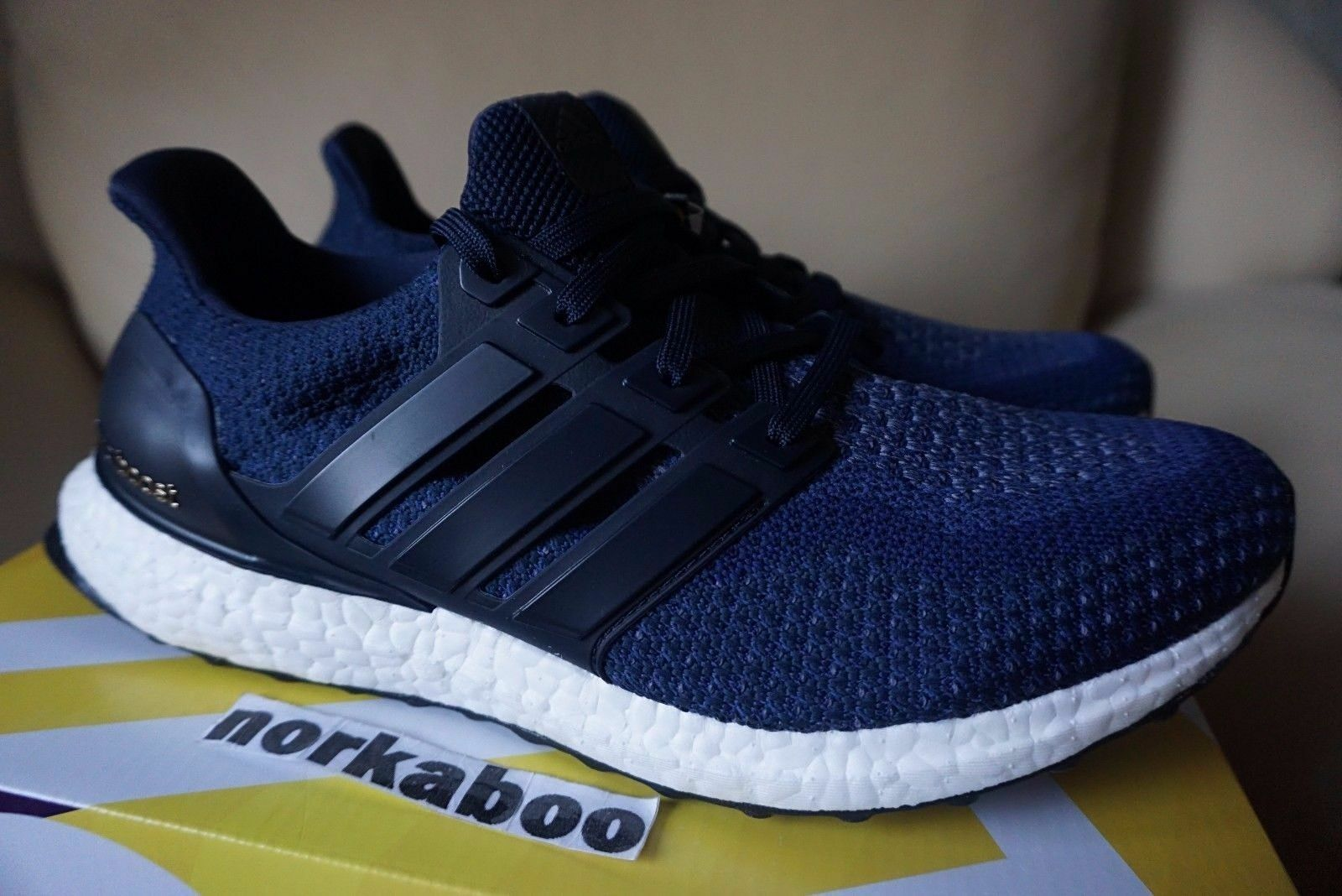 Adidas Ultra Boost M 2.0 Collegiate Navy bluee AQ5928