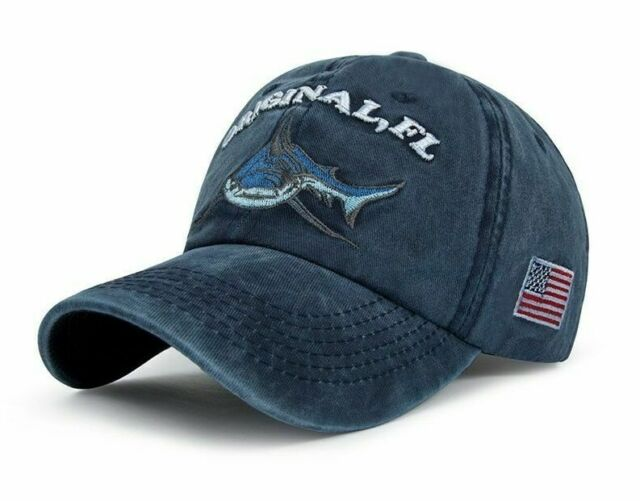 e9996882 Men's Baseball Cap Embroidery Women Snapback Hats Hip Hop Denim Shark Hat  Caps