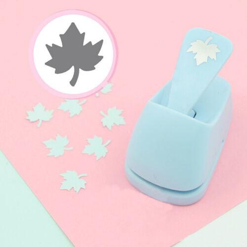 DIY Paper Hole Punch Cutter Flower Card Scrapbook Hand Shaper Embossing Craft