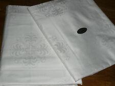 2  Alte wunderschöne  Bettbezüge  Seiden Brokat   Damast  Ornamenten   UNBENUTZT