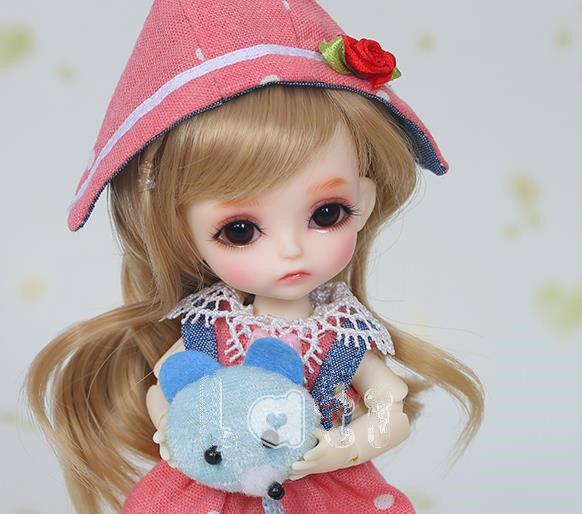 1 8 BJD Doll SD  Girl sunny BB -Free Face Make UP+Free Eyes