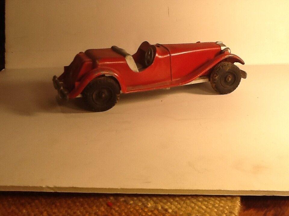 Rojo Vintage Antiguo Hubley Kiddie Juguete Roadster Coche número 485