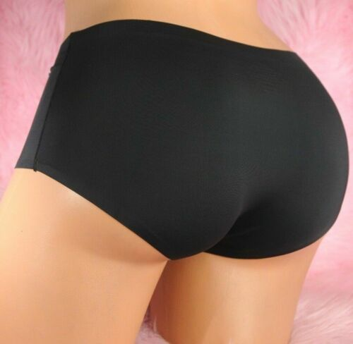 Smooth Perfectly SEAMLESS Nylon 4 Colors Sissy Low Rise Panties L XL