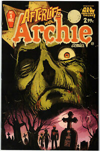 AFTERLIFE-WITH-ARCHIE-1-FRANCESCO-FRANCAVILLA-COVER-1ST-PRINT-2013-ZOMBIE-STORY