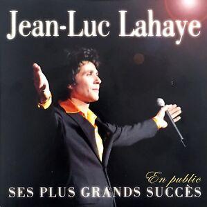 Jean-Luc-Lahaye-CD-Ses-Plus-Grands-Succes-En-Public-France-EX-M