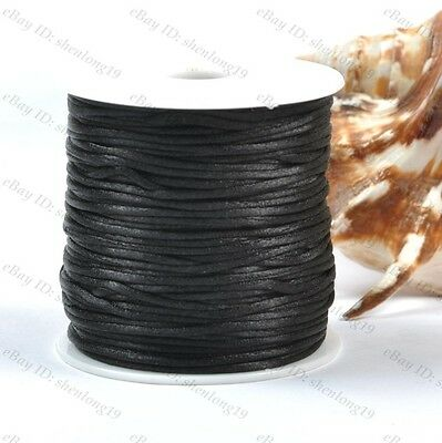 1Roll Chinese Knot Nylon Beading Thread String Jewelry Cords 2MM 18 Colour