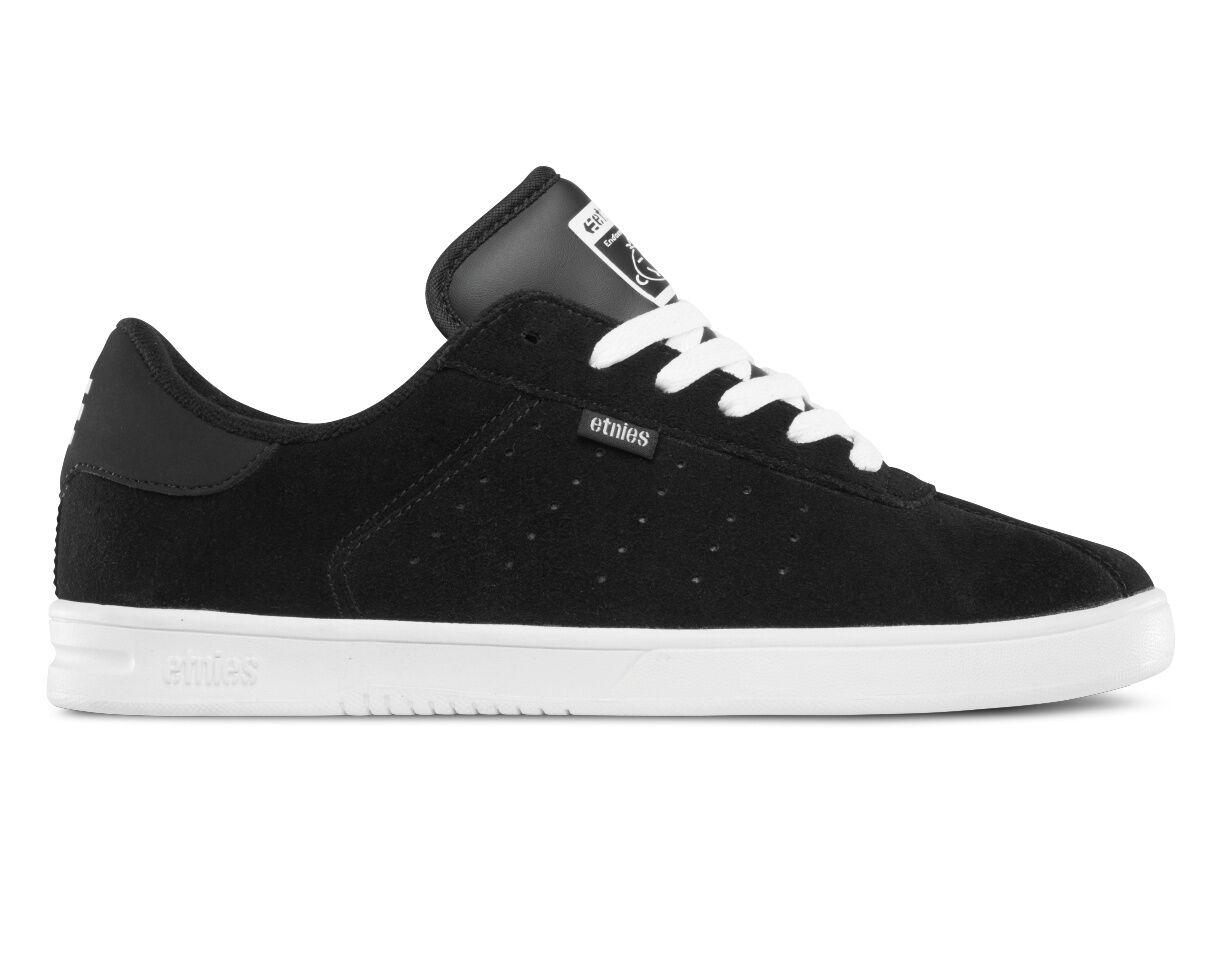 Etnies the Scam hombres zapatillas negro blancoo 4101000462-976