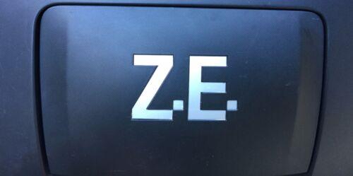Renault TWIZY charging flap lade haube Z.E /& lip Decals Vinyl different colors