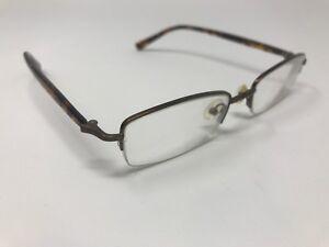 80845a5ca04 Authentic MODO Eyeglass Frames MC124 50-19-138 Tortoise Bronze Half ...