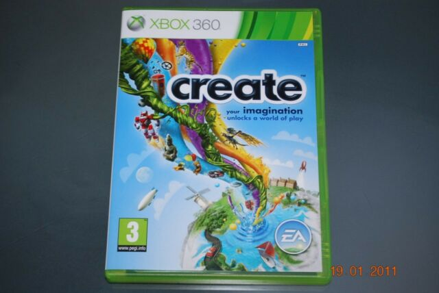 Create Xbox 360 Game UK PAL (No Manual) **FREE UK POSTAGE**