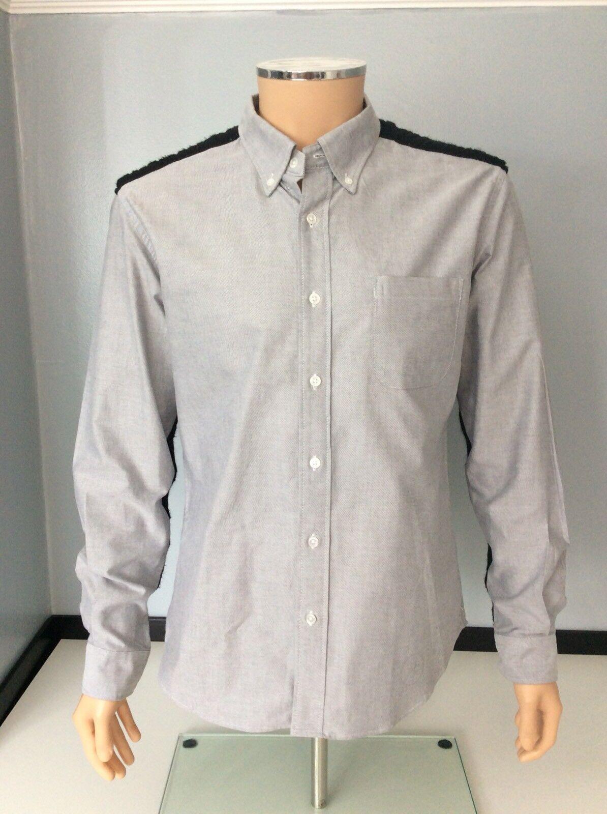Uniform Experiment  Herren Shirt, Größe 4, XL, Grau Wool Detail, Vgc