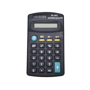 Pocket-Mini-8-Digit-Electronic-Calculator-Battery-Powered-School-Office-Compa0T