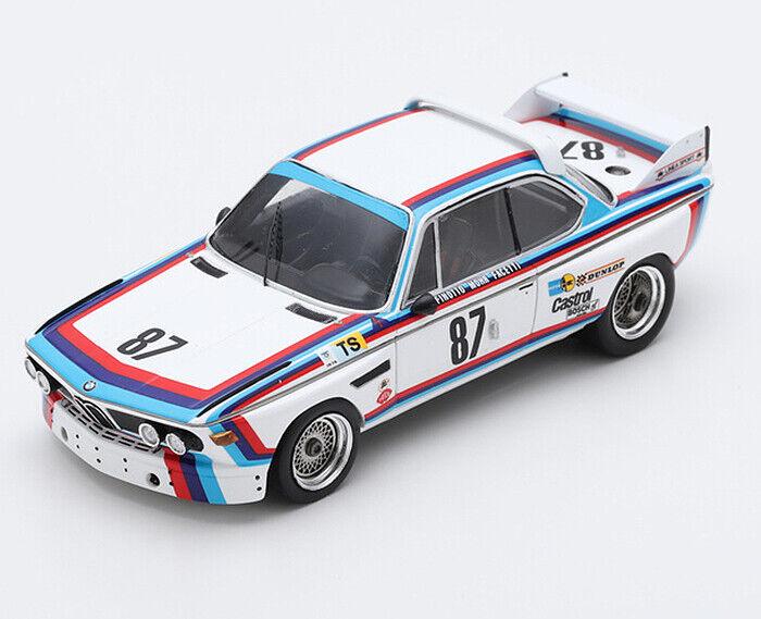 venta mundialmente famosa en línea 1 43 Spark Spark Spark BMW 3.0 CSL 1974 Lemans Finotto Facetti Mohr S1566  Envío 100% gratuito